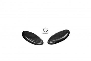 Carbon Spiegelloch Cover für Suzuki GSX-R 1300 Hayabusa 2008-2015