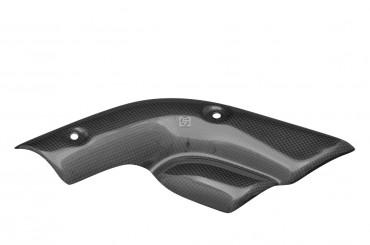 Carbon Auspuff Verkleidung 13,1 cm Lochabstand für Ducati 748 / 916 / 996 / 998