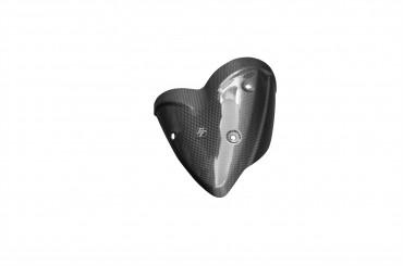Carbon Auspuffverkleidung für Ducati Monster 1100 EVO