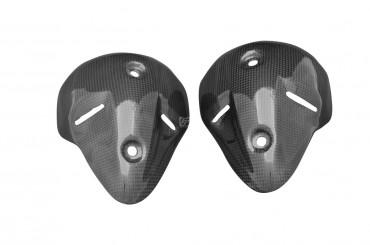 Carbon Auspuffverkleidung für Ducati Monster 696 / 1100 2008-2009