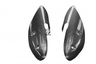 Carbon Auspuffverkleidung für Ducati Monster 696 / 796 / 1100 2010-2011