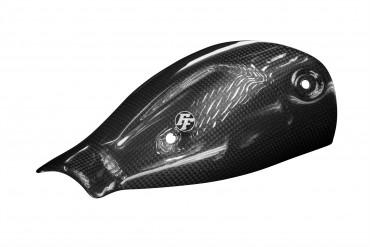 Carbon Auspuffverkleidung für Ducati Monster 797