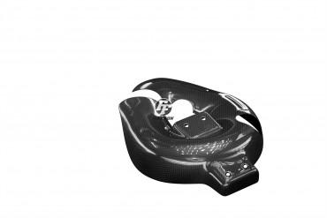 Carbon Auspuffverkleidung für Ducati Panigale 959 Carbon+Fiberglas Leinwand Glossy Carbon+Fiberglas | Leinwand | Glossy