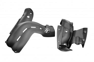 Carbon Auspuffverkleidung für Ducati Panigale V4