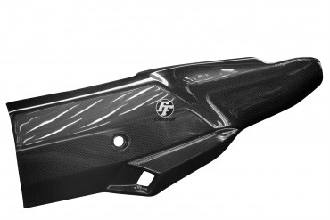 Carbon Auspuffverkleidung für Honda CRF 1000 L Africa Twin
