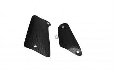 Carbon Auspuffverkleidung für MV Agusta Brutale 750 / 910 / 920 / 989R / 990 / 1078R / 1090 Carbon+Fiberglas Leinwand Glossy Carbon+Fiberglas | Leinwand | Glossy