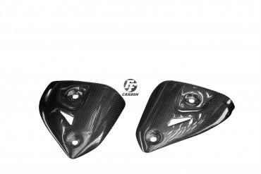 Carbon Auspuffverkleidung Termignoni Slip-on für Ducati Panigale 899 / 959 / 1199 / 1299 Carbon+Fiberglas Leinwand Glossy Carbon+Fiberglas | Leinwand | Glossy
