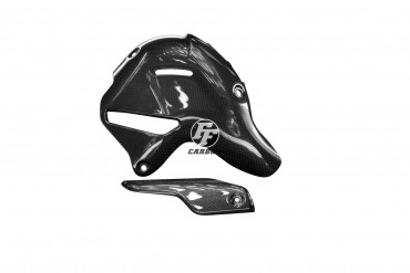 Carbon Auspuffverkleidung für Ducati Panigale V4 R
