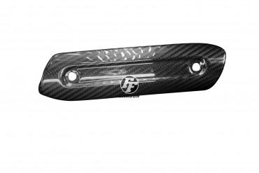 Carbon Auspuffverkleidung für Ducati Scrambler / Monster 797 Carbon+Fiberglas Köper Glossy Carbon+Fiberglas | Köper | Glossy