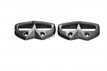 Carbon Auspuffverkleidung für Kawasaki Z1000 2010-2013