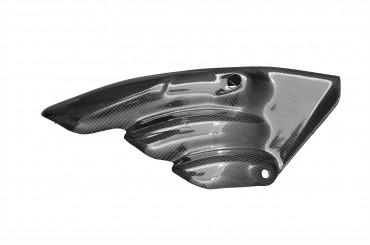 Carbon Auspuffverkleidung für MV Agusta F3 / Brutale 675 / 800 / Dragster