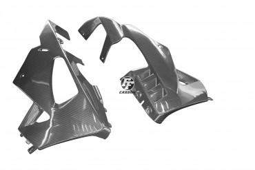 Carbon Bugspoiler für Aprilia RSV 4 RR/RF 2015- Carbon+Fiberglas Köper Glossy Carbon+Fiberglas | Köper | Glossy