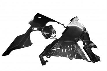 Carbon Bugspoiler für Honda CBR 1000 2017- Carbon+Fiberglas Leinwand Glossy Carbon+Fiberglas | Leinwand | Glossy