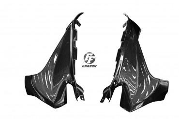 Carbon Cockpit Innenverkleidung für Aprilia RSV 4 RR/RF 2015- Carbon+Fiberglas Leinwand Glossy Carbon+Fiberglas | Leinwand | Glossy
