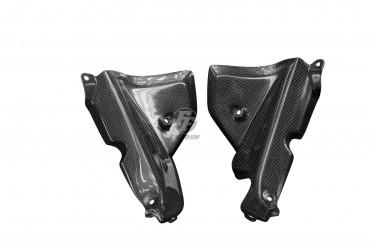 Carbon Cockpit Innenverkleidung für Aprilia Tuono V4 2016- Carbon+Fiberglas Leinwand Glossy Carbon+Fiberglas | Leinwand | Glossy