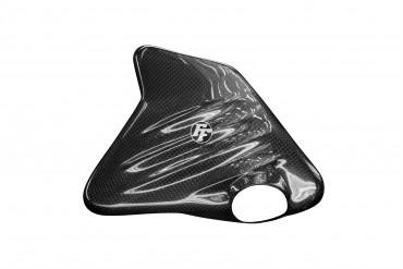 Carbon Kühlflüssigkeitsbehälter Cover für BMW K1200S/R / K1300S/R Carbon+Fiberglas Leinwand Glossy Carbon+Fiberglas | Leinwand | Glossy
