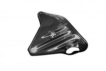 Carbon Kühlflüssigkeitsbehälter Cover für BMW K1200S/R / K1300S/R Carbon+Fiberglas Köper Glossy Carbon+Fiberglas | Köper | Glossy