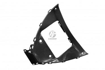 Carbon Dreiecksrahmen Ölkühlerabdeckung für Yamaha YZF-R1 2020-