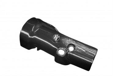 Carbon Auspuffverkleidung Unten für Yamaha YZF-R1 2009-2014
