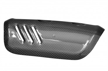 Carbon Exhaust Cover for Yamaha FZ8