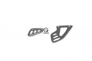 Carbon Fersenschützer für Aprilia RSV4 / Tuono V4R Carbon+Fiberglas Köper Glossy Carbon+Fiberglas | Köper | Glossy