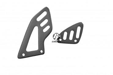 Carbon Fersenschützer für Aprilia RSV4 / Tuono V4R Carbon+Fiberglas Leinwand Matt Carbon+Fiberglas | Leinwand | Matt