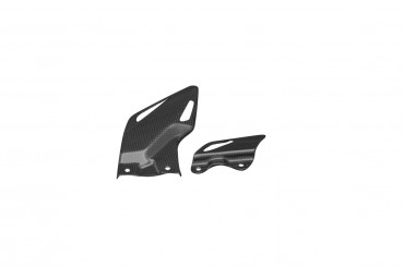 Carbon Fersenschützer für Honda CBR 1000RR 2008-2018 Carbon+Fiberglas Leinwand Glossy Carbon+Fiberglas | Leinwand | Glossy
