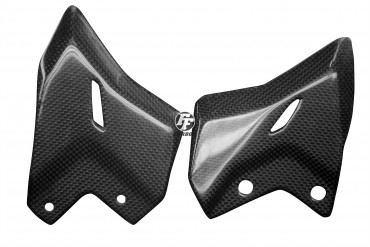 Carbon Fersenschützer für Kawasaki Z650 Carbon+Fiberglas Leinwand Glossy Carbon+Fiberglas | Leinwand | Glossy