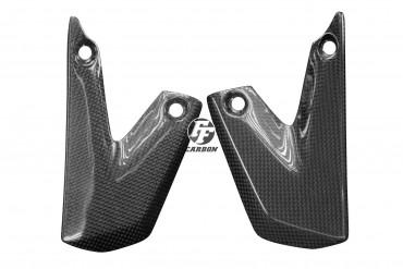 Carbon Fersenschützer für KTM 690 SMC 2008 -2011 / 690 SMC R 2012 -2015 / 690 Enduro 2008 -2010 / 690 Enduro R 2009 - 2015