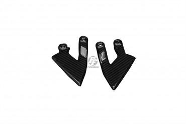 Carbon Fersenschützer für KTM 990 Supder Duke / R 2004-2013 Carbon+Fiberglas Köper Glossy Carbon+Fiberglas | Köper | Glossy