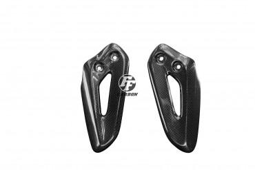 Carbon Fersenschützer für Triumph Speed Twin