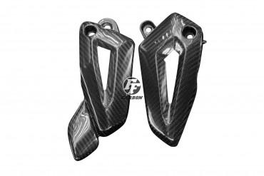 Carbon Fersenschützer für Triumph Tiger 800 XC