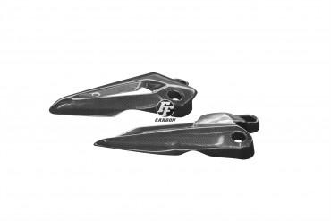Carbon Fersenschützer für Triumph Tiger 800 XRX XCX
