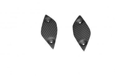 Carbon Fersenschützer für Yamaha FZ8 Carbon+Fiberglas Köper Matt Carbon+Fiberglas | Köper | Matt