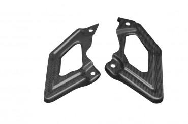 Carbon Fersenschützer (nur bei Solo Betrieb) für Ducati Hypermotard 796 / 1100