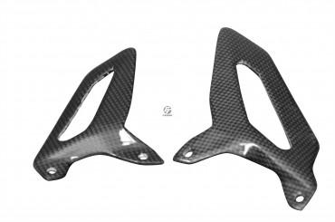 Carbon Fersenschützer für Ducati Panigale 899 / 959 / 1199 / 1299 Carbon+Fiberglas Leinwand Glossy Carbon+Fiberglas | Leinwand | Glossy