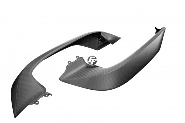 Carbon Front Seitenverkleidung für Ducati Multistrada 1200 2015- Carbon+Fiberglas Köper Matt Carbon+Fiberglas | Köper | Matt