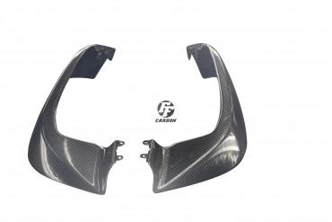 Carbon Front Seitenverkleidung für Ducati Multistrada 1200 2015- 100% Carbon Köper Glossy 100% Carbon | Köper | Glossy