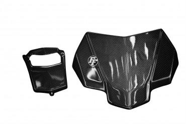 Carbon Cockpitverkleidung für Yamaha MT-10 Carbon+Fiberglas Leinwand Glossy Carbon+Fiberglas | Leinwand | Glossy