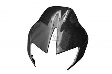Carbon Frontverkleidung für Aprilia DorsoDuro 750 Carbon+Fiberglas Leinwand Glossy Carbon+Fiberglas | Leinwand | Glossy