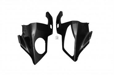 Carbon Frontverkleidung für BMW S1000RR 2010-2014 Carbon+Fiberglas Leinwand Glossy Carbon+Fiberglas | Leinwand | Glossy