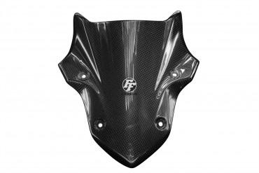 Carbon Frontverkleidung über Schweinwerfer für Kawasaki Z900 Carbon+Fiberglas Leinwand Glossy Carbon+Fiberglas   Leinwand   Glossy