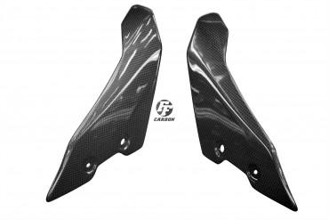 Carbon Frontverkleidung über Scheinwerfer für Yamaha MT-10