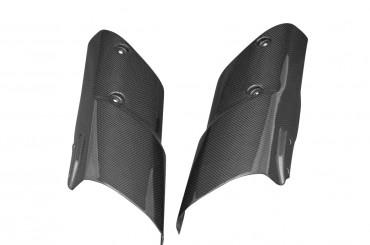 Carbon Gabelverkleidung für Kawasaki Z1000 2010-2013