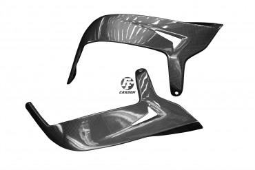 Carbon Handschützer für Aprilia Dorsoduro 1200 Carbon+Fiberglas Leinwand Glossy Carbon+Fiberglas | Leinwand | Glossy