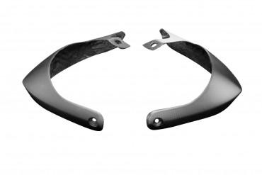 Carbon Handschützer für Aprilia Dorsoduro SMV 750 100% Carbon Leinwand Matt 100% Carbon | Leinwand | Matt