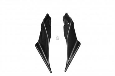Carbon Heck Seitenverkleidung für Aprilia RSV4 / Tuono V4 Factory 2016- Carbon+Fiberglas Leinwand Glossy Carbon+Fiberglas | Leinwand | Glossy