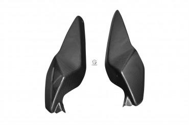 Carbon Heck Seitenverkleidung für BMW K1300R Carbon+Fiberglas Leinwand Glossy Carbon+Fiberglas | Leinwand | Glossy