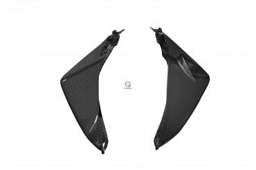 Carbon Heck Seitenverkleidung für Suzuki GSR 750
