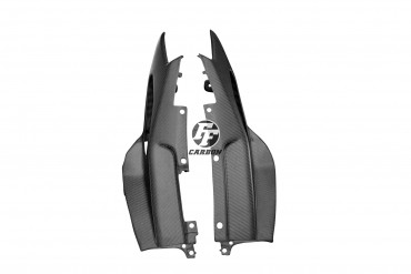 Carenado lateral trasero Carbono por Yamaha MT-09 2017-